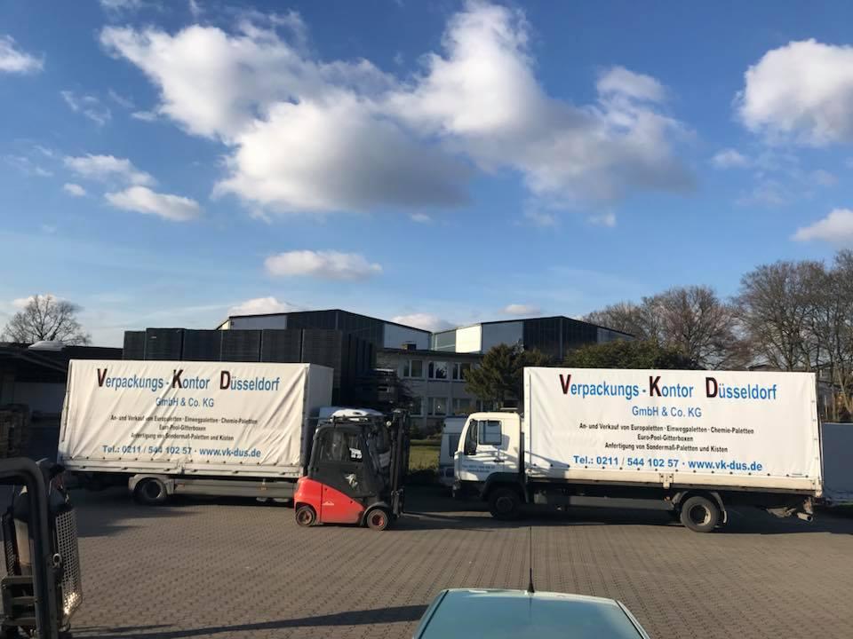 Verpackungs-Kontor Düsseldorf, Ihr Partner für Paletten!